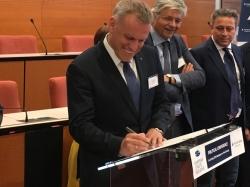Andre Sepp allkirjastas Euroopa Väinade Initsiatiivi koostöömemorandumi