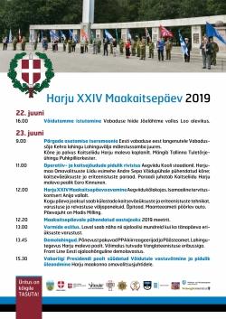 XXIV Harju Maakaitsepäev toimub 23. juunil Anija vallas, Aegviidus