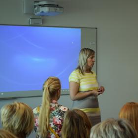 SA Innove Õpetaja ning koolijuhi täienduskoolituskeskuse juhataja Marju Aolaid